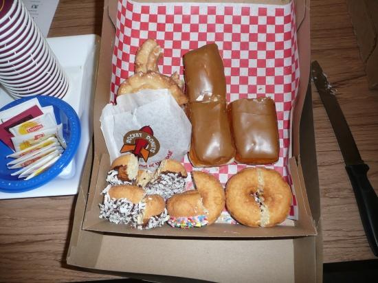 yummmm donuts, sweet little morsels of joy