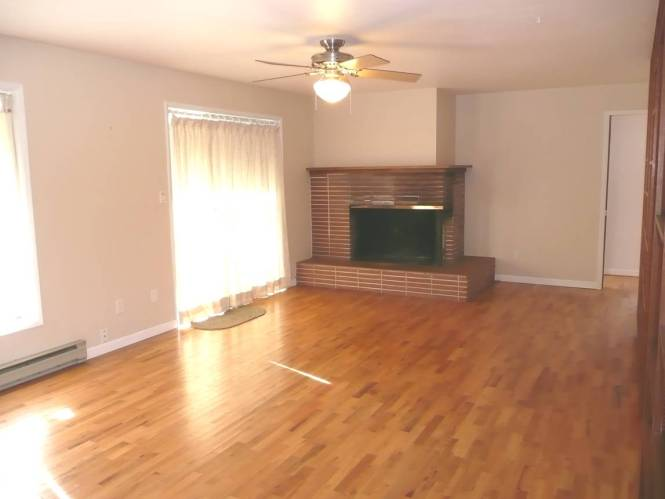 Beautiful oak floors throughout the home