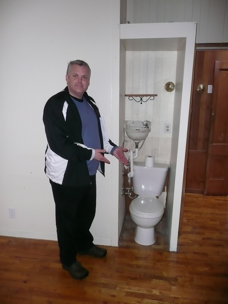 House hunting whatcomtom for The smallest bathroom